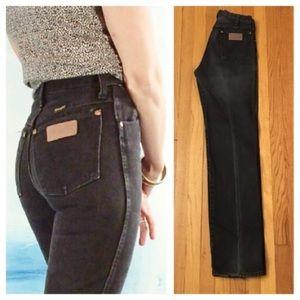 Black Vintage Wrangler Jeans